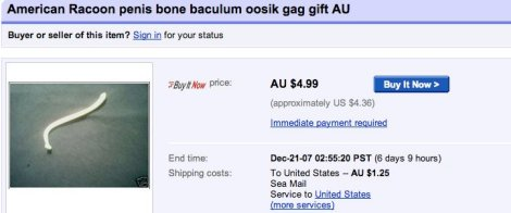 The 12 Most Awesomely Ridiculous Ebay Auctions Cracked Com