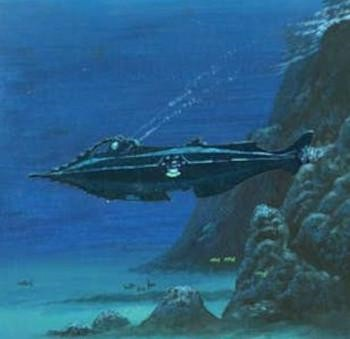 5 Classic Characters Nearly Every Adaptation Gets Wrong - the Nautilus submarine from 20,000 Leagues Under the Sea