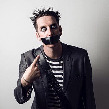 5 Harsh Realities Of Joke Theft a man with duct tape over his mouth looking censored