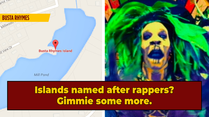 One Man's Crusade To Officially Name A Island (... After Busta Rhymes?)