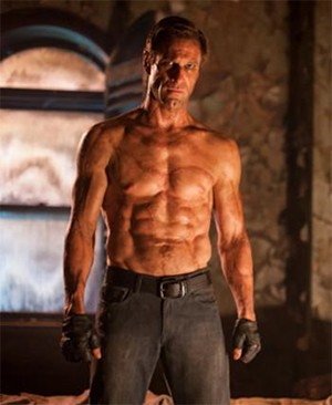 5 Classic Characters Nearly Every Adaptation Gets Wrong - Aaron Eckhart shirtlessly in the movie I, Frankenstein