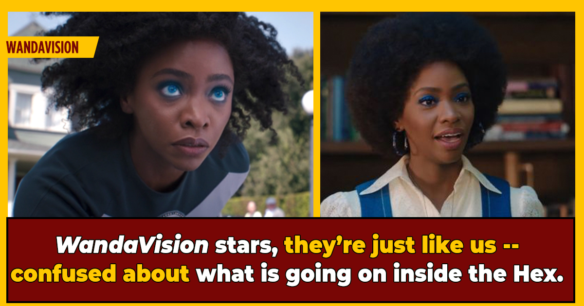 WandaVision's Teyonah Parris Says She Didn't Understand The Show At First