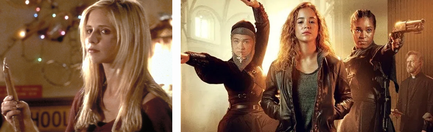 Netflix's 'Warrior Nun' Is The Closest We'll Get To A 'Buffy' Sequel