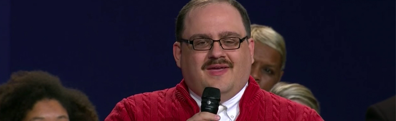 'Sweater Guy' Ken Bone Is Not Someone To Listen To In 2020
