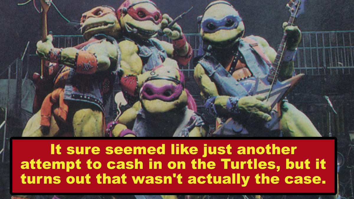 The Stupidest Moment In 'Ninja Turtles' History Has a Sweet Backstory