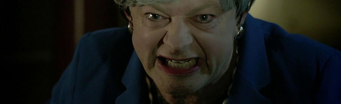 And Now, Andy Serkis As Gollum As Theresa May