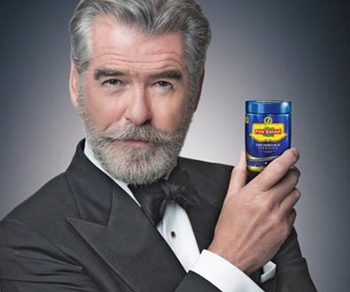 I don't often endorse a product, but when I do, <A TARGET=_blank HREF=https://www.theguardian.com/world/2018/feb/14/india-threatens-pierce-brosnan-with-fine-over-pan-masala-advertisement>it gets me in a lot of trouble</A>.