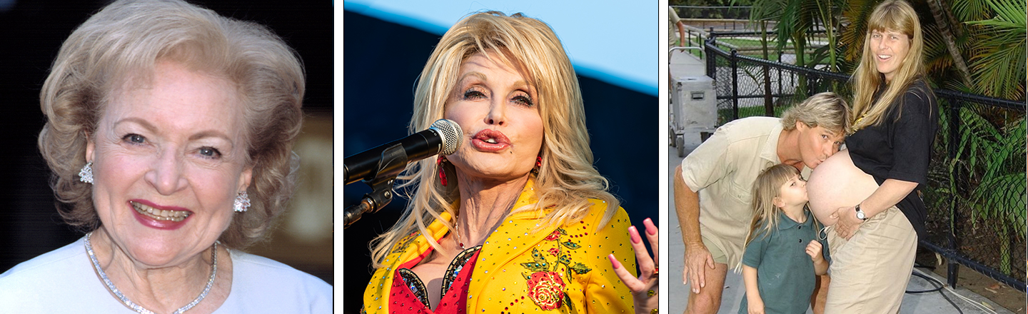 BREAKING: Dolly Parton, Betty White, and Steve Irwin's Daughter, All Still Wholesome As Heck
