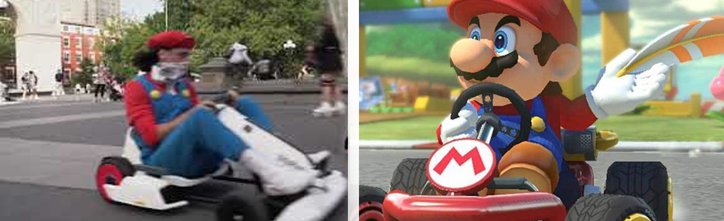 Empty N.Y.C. Streets Have Led To Real-Life 'Mario Kart'