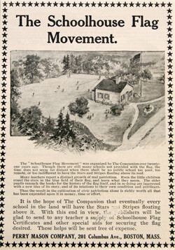 flag campaign from an old magazine The Youth's Companion