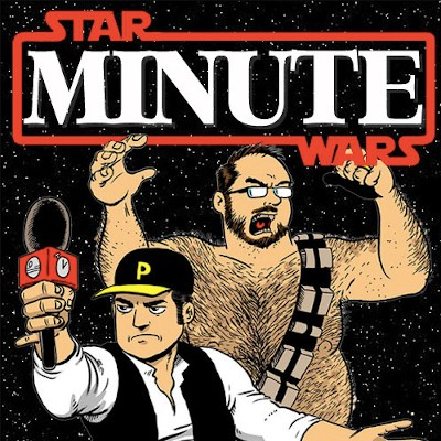 5 Weird Things You Notice Watching 'Star Wars,' Minute By Minute - the logo to the Star Wars Minute podcast