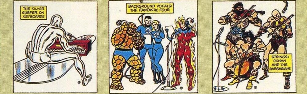That Time Marvel Dropped A Bunch Of (Bad) Rock Albums