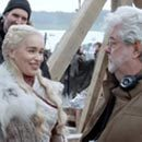 So George Lucas Visited The 'Game Of Thrones' Set