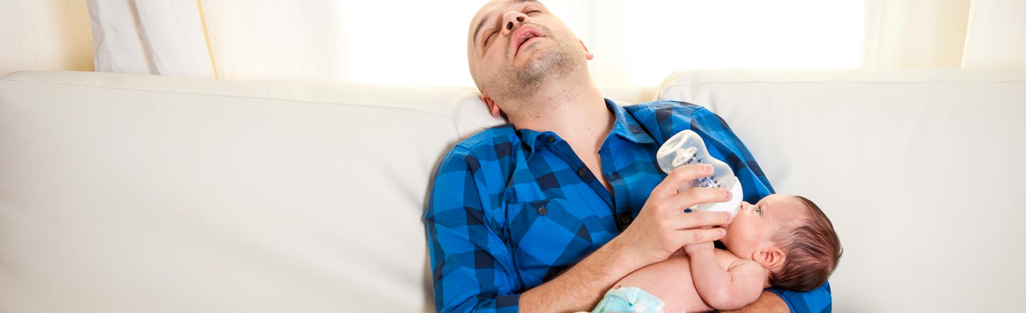 5 Well-Meaning Rules New Parents Will See Blown To Hell