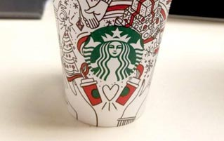 Starbucks Released A New Holiday Cup. Everybody Panic!