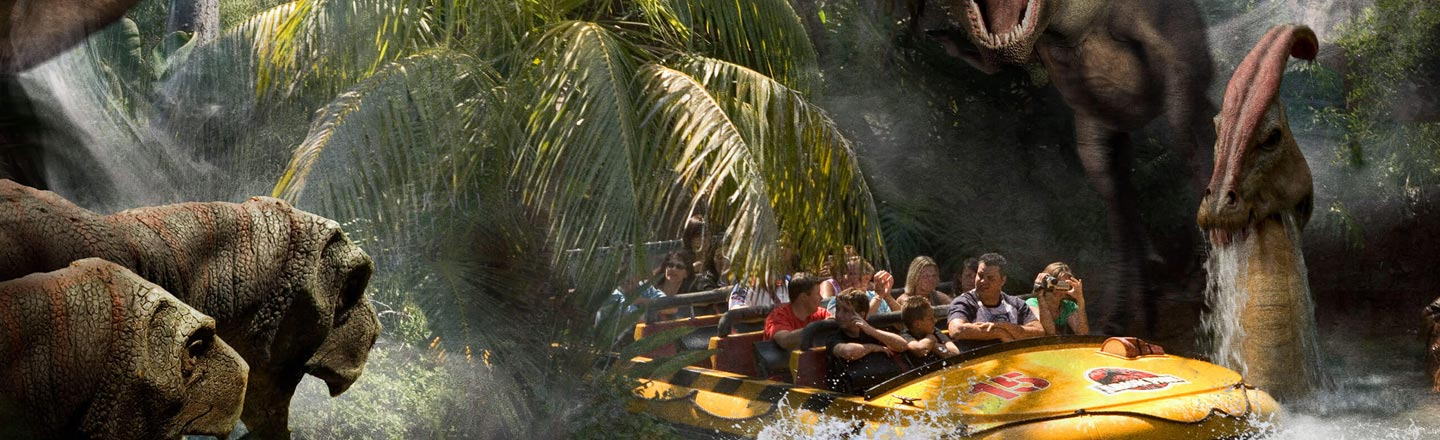 The Forgotten Story Behind Jurassic Park: The Ride