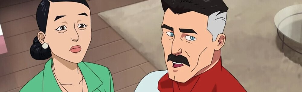 'Invincible's Super DILF Comes from the Planet of Mustaches
