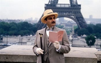 French in the sheets, traditional British detective in the streets.
