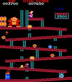 5 Video Game Series That Had Weird Moments Everyone Forgets - a screenshot from Donkey Kong