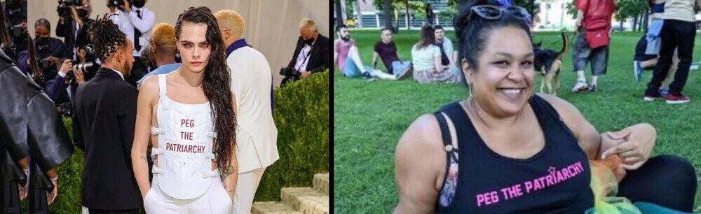 Cara Delevingne's 'Peg The Patriarchy' Vest Seriously Sucks