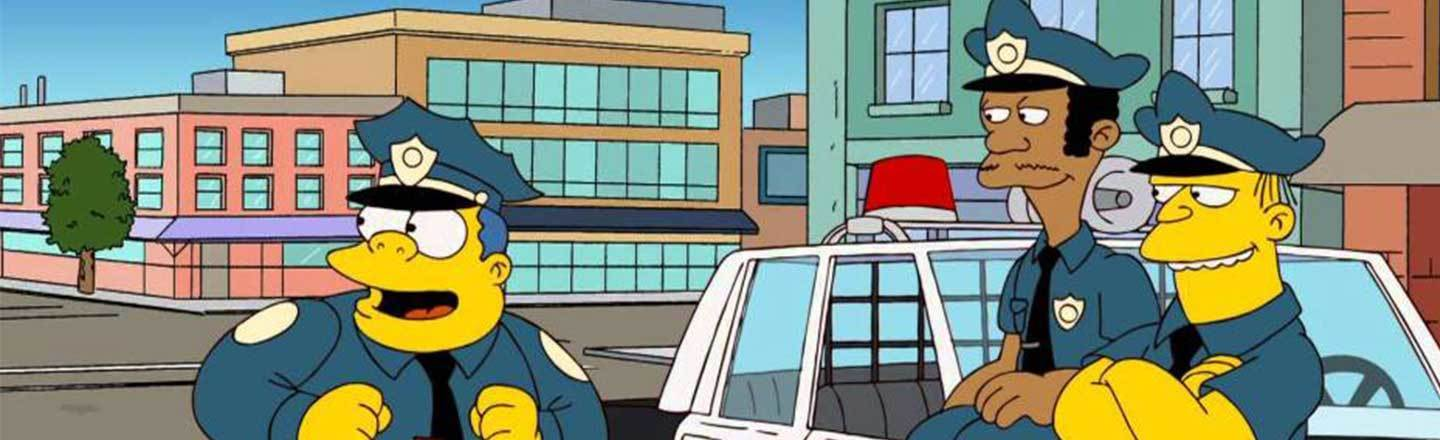 Chief Wiggum Is Legit The Most Realistic Portrayal of Modern Policing |  Cracked.com