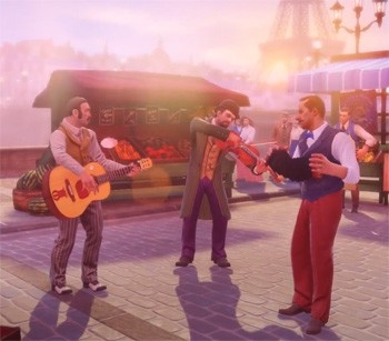 5 Video Game Series That Had Weird Moments Everyone Forgets - BioShock Infinite