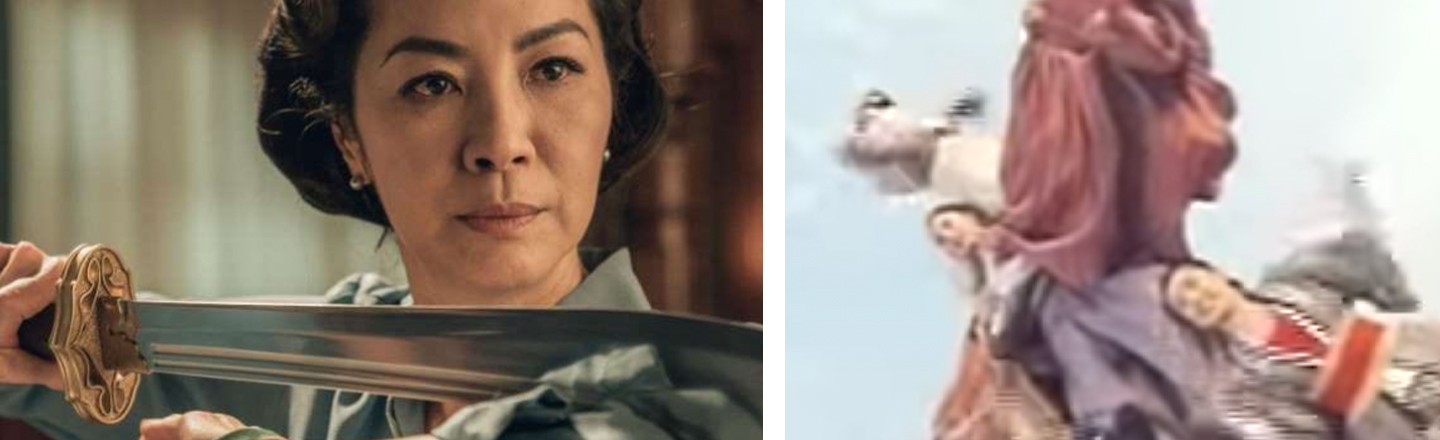 Michelle Yeoh Wielding -- and Being -- a Sword is The Twitter Savior We Need Today