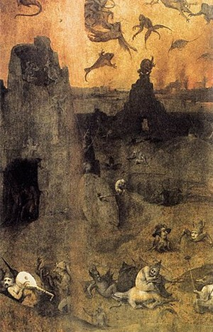 Reminder: Angels In The Bible Were Mind-Melting Horror Beasts - Hieronymus Bosch's