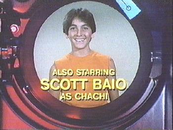ALSO STARRING SCOTT BAIO AS CHACHI