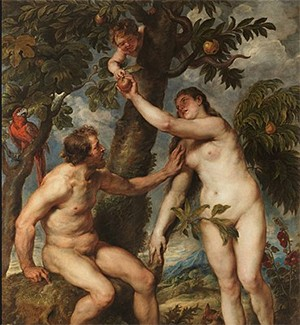 Reminder: Angels In The Bible Were Mind-Melting Horror Beasts - Peter Paul Rubens's painting of Adam and Eve
