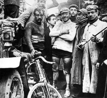 The Violent, Deranged Origin Story Of The Tour de France - Maurice Garin, an early Tour de France competitor