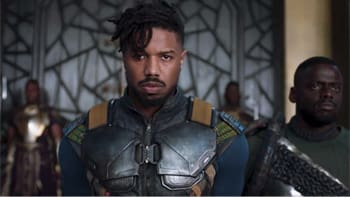 They ignored his ideas for Killmonger to go Super Wakandan and sprout lightning-blond hair.