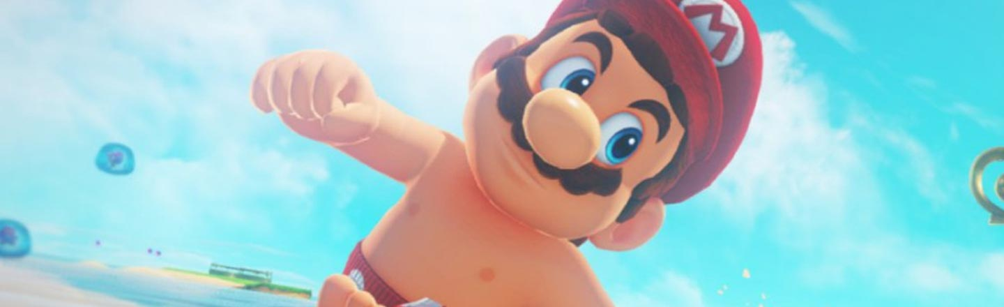 You Can See Mario's Officially Licensed Wiener