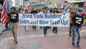 Plus, no one wanted to be seen demanding the truth about what happened on 9/11.
