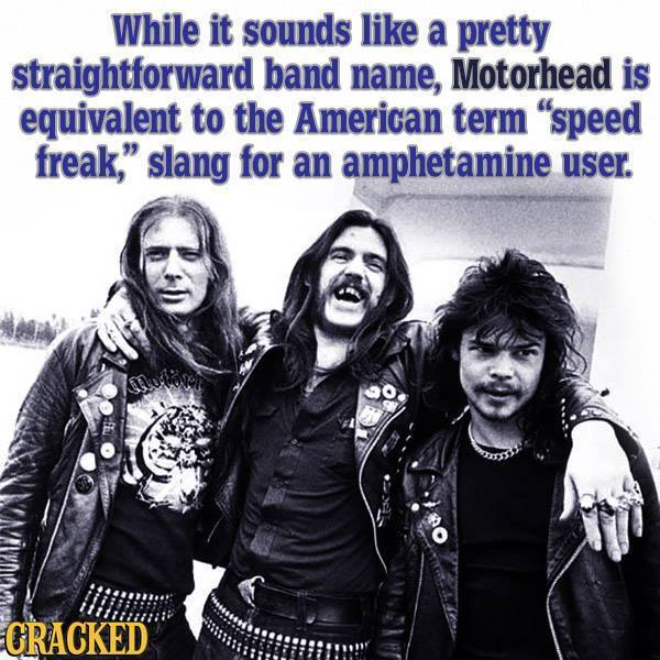 Crackedoids: Motorhead Rules Edition