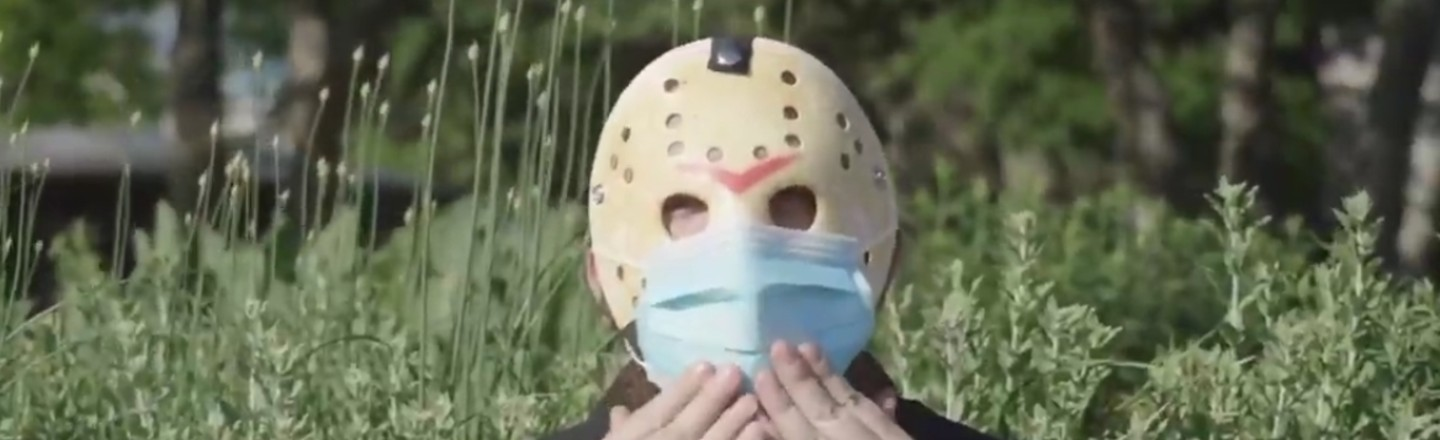 Jason Voorhees' Face Mask PSA Raises So Many Questions