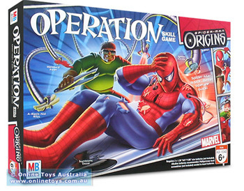 OPERATION OPERATIONEn SKILL CAE ORIGINS S MAVEL 6+ MB onlinne TOyS Autrala wWw.onllinetoys.comau