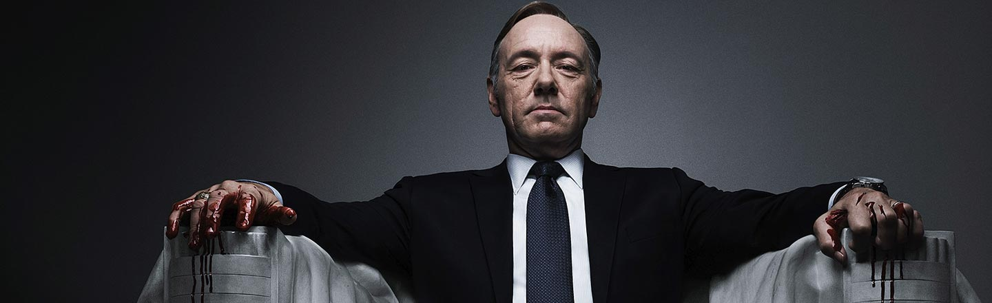 Russian Trolls Watched 'House Of Cards' To Learn Politics
