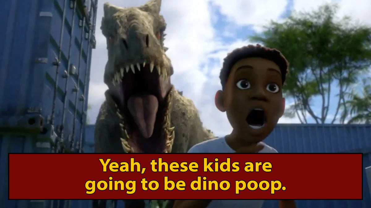 The 'Jurassic World' Cartoon Makes the Movies Even Darker