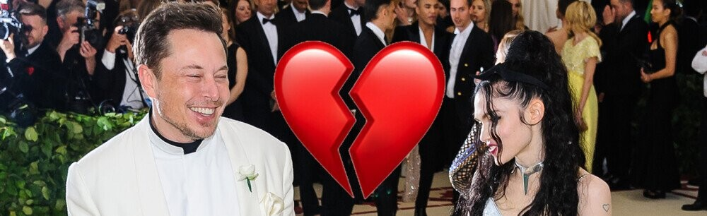 Elon Musk and Grimes Announce Split, Surprise Surprise