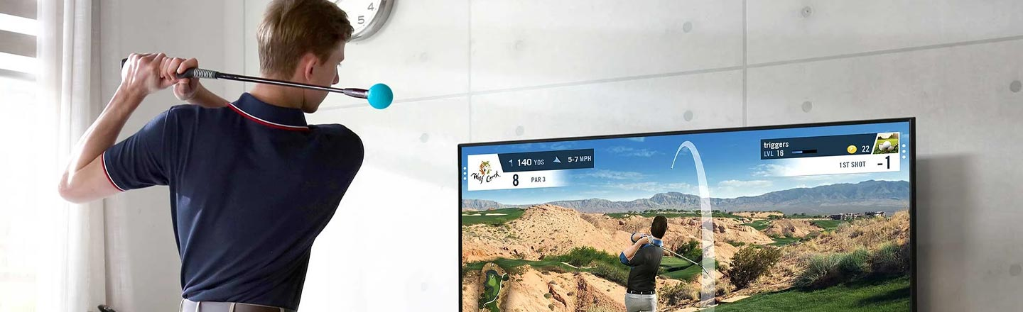 Fore! This Simulator Is Only The Best Parts Of Golf