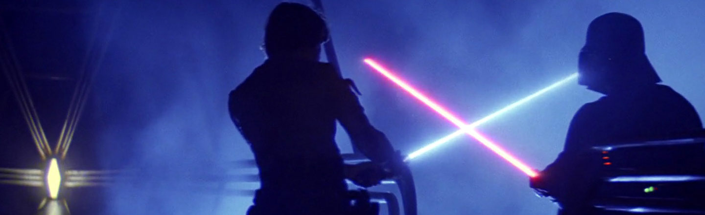 5 Ways Mankind Would Screw Up Lightsabers For Everyone