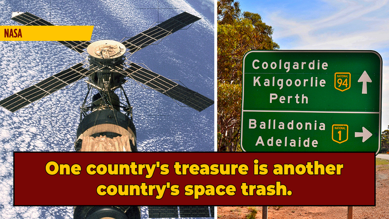 Australia Fined NASA For Littering ... A Space Station