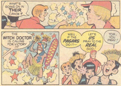 5 Famous Characters The World Saw Differently 20 Years Ago - an Archie Christian comic about pagans