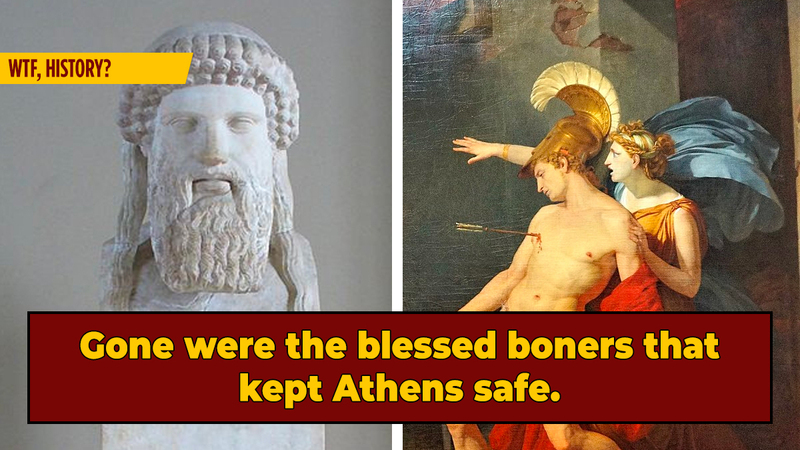 The Rude Statues That Caused Athens' Democratic Downfall