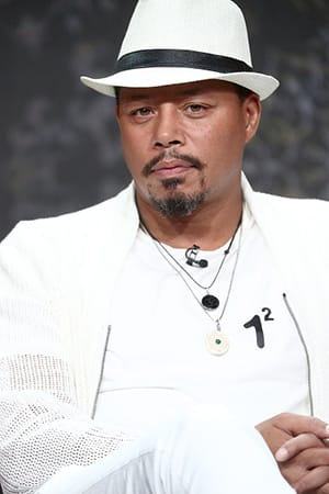 Terrence Howard, seen here silently judging your butthole hygiene.