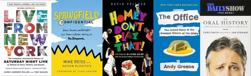We're Giving Away a Collection of Books on Comedy History