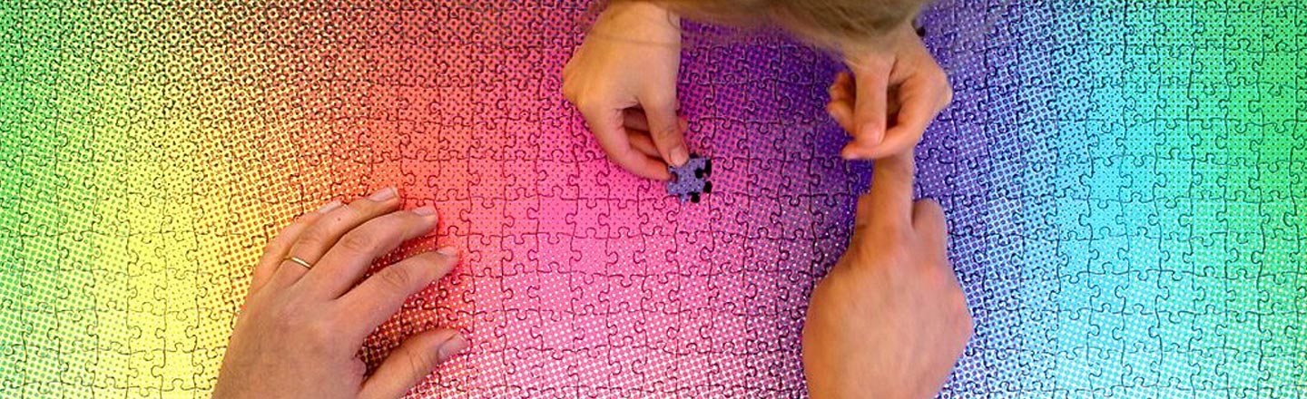 This Color Gradient Puzzle Is Infuriatingly Beautiful