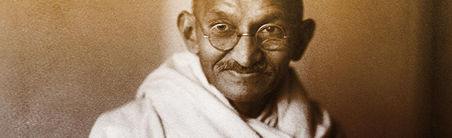 Students Take Down Statue Of Famous Racist, Uh, Gandhi?