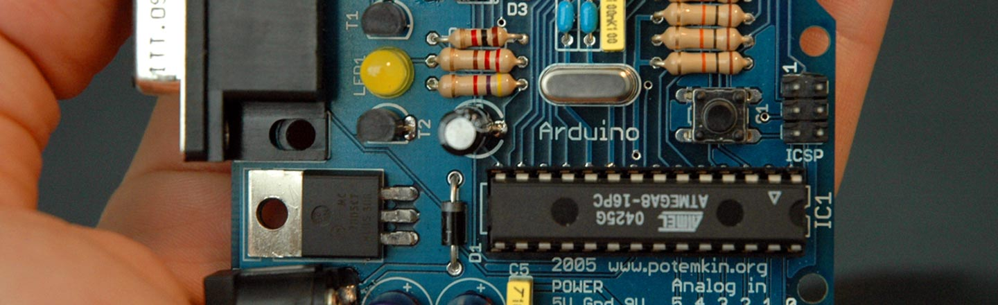 Become A Mad (Tech) Scientist With Arduino, Hack The Planet